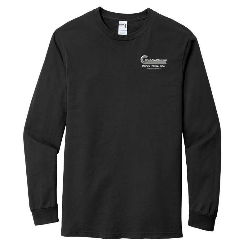 Callanan Cotton Long Sleeve Tee- 4 Colors