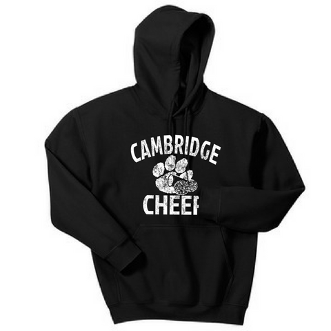 Cambridge Cheer Hooded Sweatshirt- Youth & Adult, 5 Colors