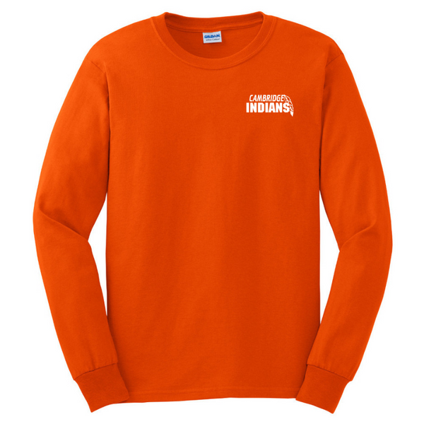 Cambridge Indians Long Sleeve Tee- Youth & Adult, 3 Colors