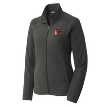 Load image into Gallery viewer, Cambridge Indians Heathered Full Zip Micro-Fleece- Ladies & Men's, 2 Colors