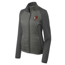 Load image into Gallery viewer, Cambridge Indians Hybrid Soft Shell Jacket- Ladies & Men's, 2 Colors