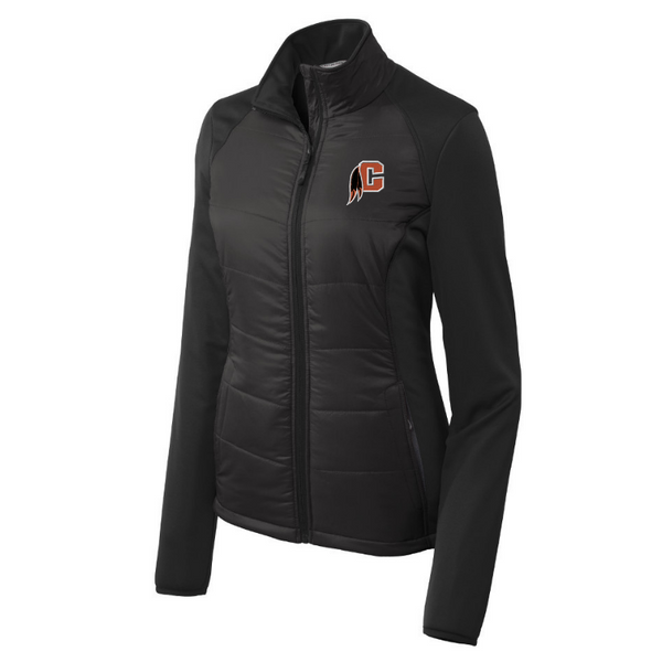 Cambridge Indians Hybrid Soft Shell Jacket- Ladies & Men's, 2 Colors