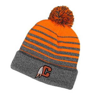 Cambridge Indians Pom Pom Beanie