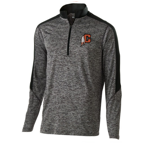 Cambridge Indians Heather Lightweight 1/4 Zip Pullover- Youth, Ladies, & Men's, 3 Colors