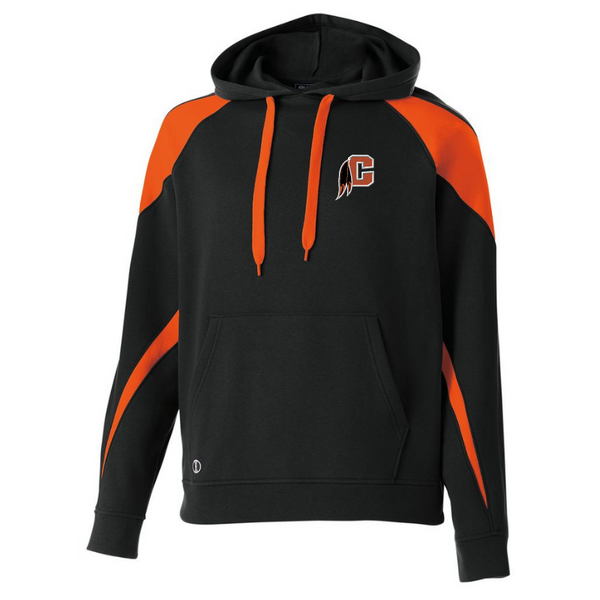 Cambridge Indians Two-Tone Hooded Sweatshirt- Youth & Adult, 2 Colors