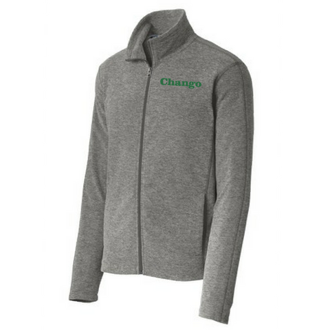 Chango/Shen Heathered Full Zip Micro Fleece- Ladies & Men's, 3 Colors