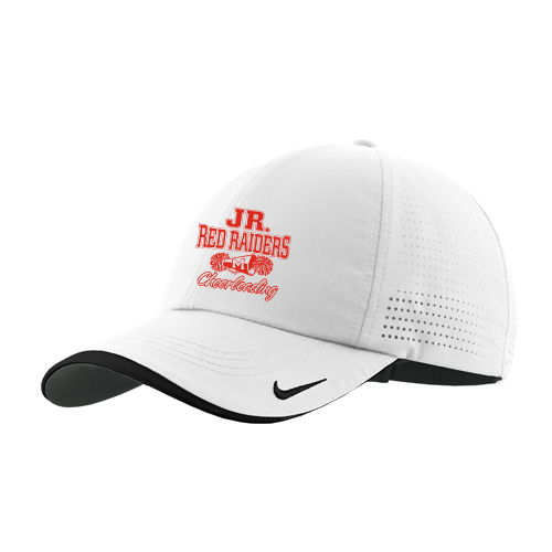 Jr Red Raiders Cheer Adjustable Performance Hat