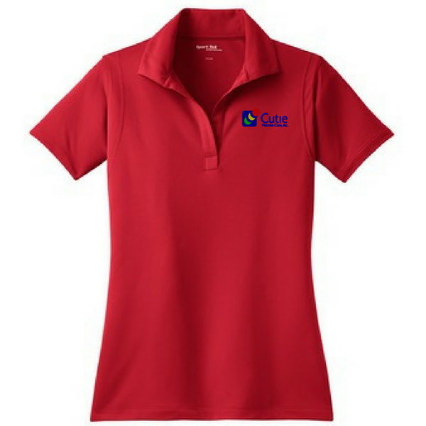 Cutie Pharma-Care Performance Polo- Ladies & Men's, 4 Colors