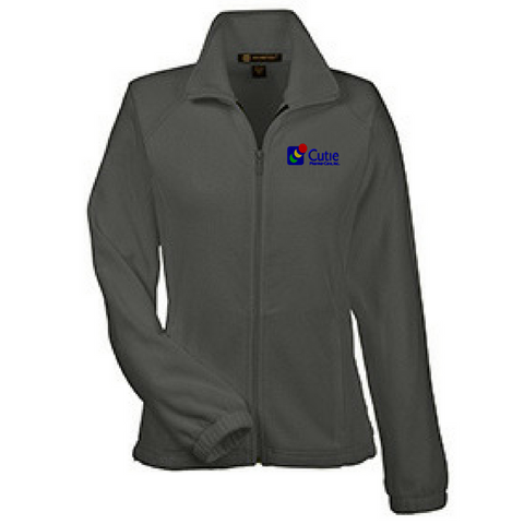 Cutie Pharma-Care Full Zip Fleece- Ladies & Men's, 4 Colors
