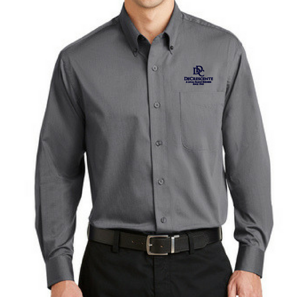 DDC Tonal Pattern Button-Down Shirt- Ladies & Men's, 2 Colors