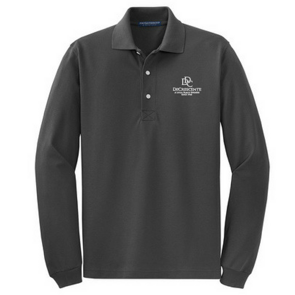 DDC Rapid Dry Long Sleeve Blend Polo- 3 Colors