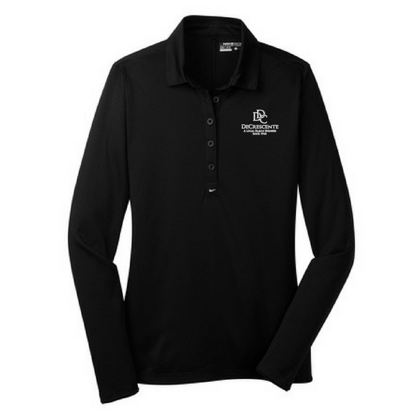 DDC Nike Long Sleeve Performance Polo- Ladies & Men's, 4 Colors