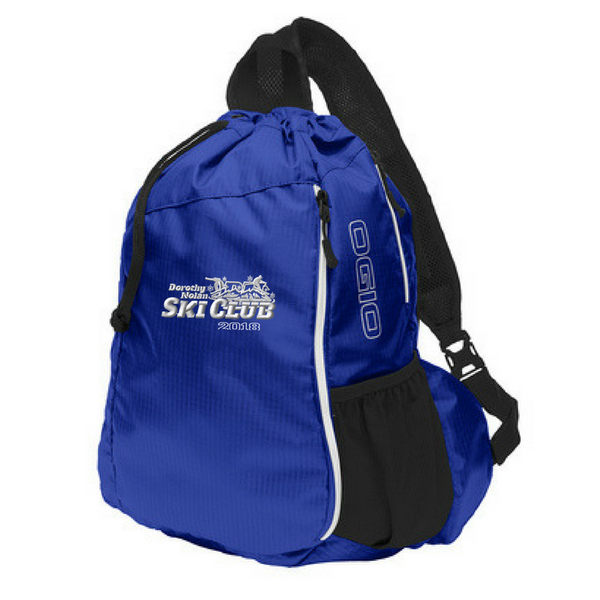 DN Ski Club Drawstring Sling Pack- 3 Colors