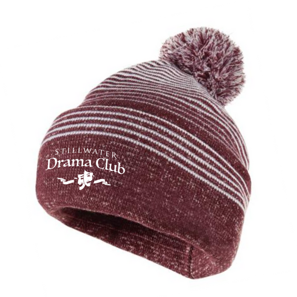 Stillwater Drama Club Pom-Pom Beanie- 2 Colors