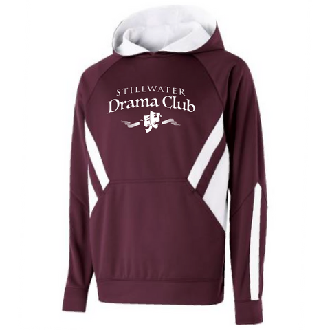 Stillwater Drama Club Two-Tone Performance Hoodie- Youth & Adult, 2 Colors