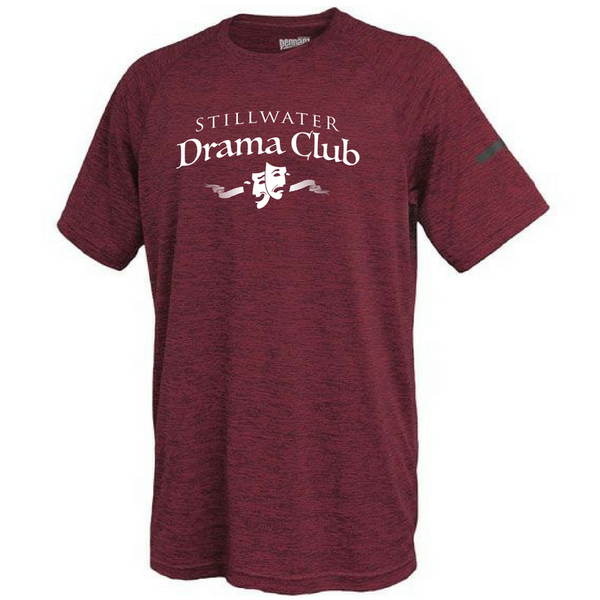 Stillwater Drama Club Space-Dye Performance Tee- Youth & Adult, 2 Colors