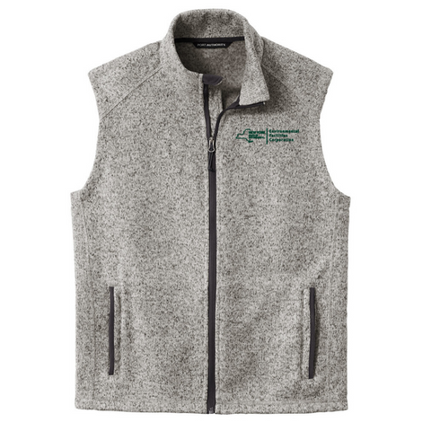 EFC Sweater Full ZIp Vest- Ladies & Men's, 2 Colors