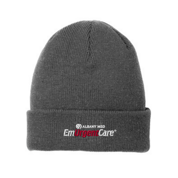 Albany Med EmUrgentCare Speckled Beanie- 3 Colors