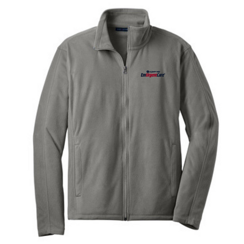 Albany Med EmUrgentCare Full Zip Microfleece- Ladies & Men's, 3 Colors
