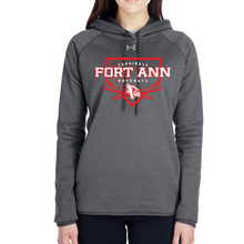 Load image into Gallery viewer, Fort Ann Baseball Under Armour Performance Hoodie- Ladies & Men's, 2 Colors