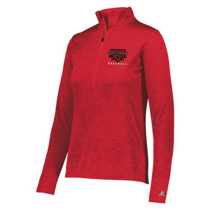 Fort Ann Baseball Lightweight Heather 1/4 Zip Pullover- Ladies & Men's, 3 Colors