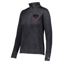 Load image into Gallery viewer, Fort Ann Baseball Lightweight Heather 1/4 Zip Pullover- Ladies & Men's, 3 Colors