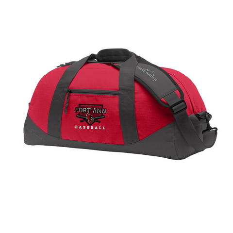 Fort Ann Cardinals Ripstop Duffle Bag- 2 Colors