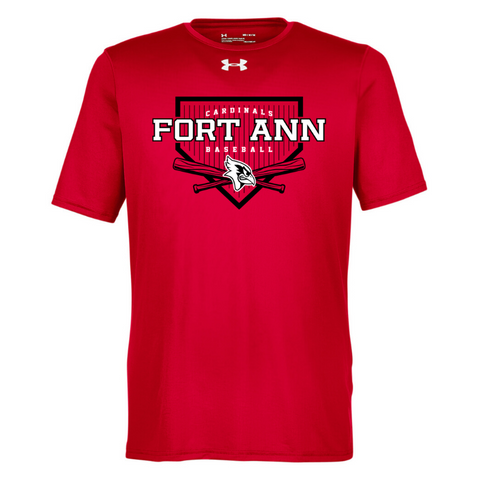 Fort Ann Baseball Under Armour Short Sleeve Performance Shirt- Ladies & Men's, 2 Colors