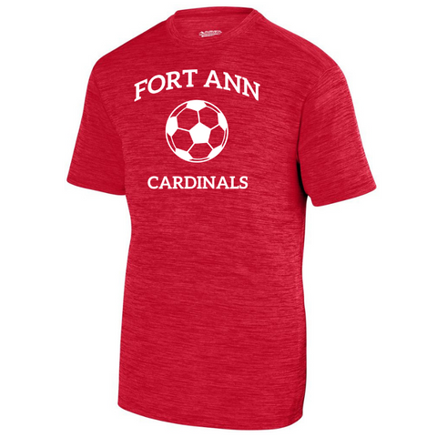 Fort Ann Soccer Tonal Heather Performance Tee- Youth, Ladies & Men's, 3 Colors