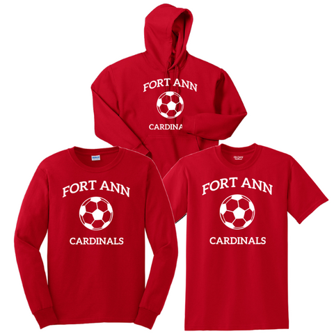 Fort Ann Soccer Bundle- Youth & Adult, 3 Colors