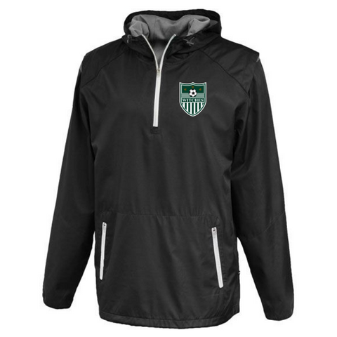 Greenwich Soccer Hooded 1/4 Zip Windbreaker- 2 Colors