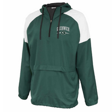 Load image into Gallery viewer, Greenwich Colorblock Hooded 1/4 Zip- Youth & Adult, 3 Colors