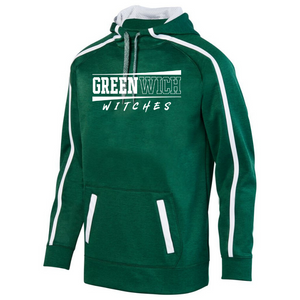 Greenwich Heather Performance Hoodie- Youth, Ladies & Men's, 4 Colors