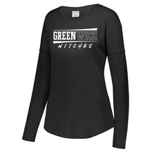 Load image into Gallery viewer, Greenwich Tri-Blend Long Sleeve- Youth, Ladies, & Men's, 3 Colors