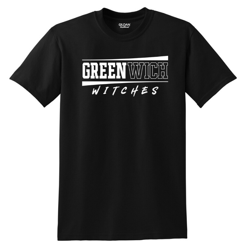 Greenwich Cotton Tee- Youth & Adult, 5 Colors