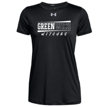 Load image into Gallery viewer, Greenwich Under Armour Short Sleeve Performance Shirt- Ladies & Men's, 4 Colors
