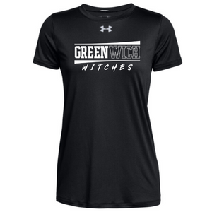 Greenwich Under Armour Short Sleeve Performance Shirt- Ladies & Men's, 4 Colors