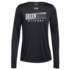 Greenwich Under Armour Long Sleeve Performance Tee- Ladies & Men's, 4 Colors