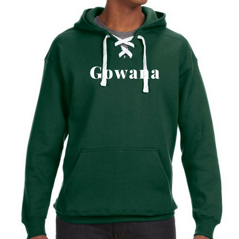 Gowana/Shen Lace-Up Hoodie- 2 Colors