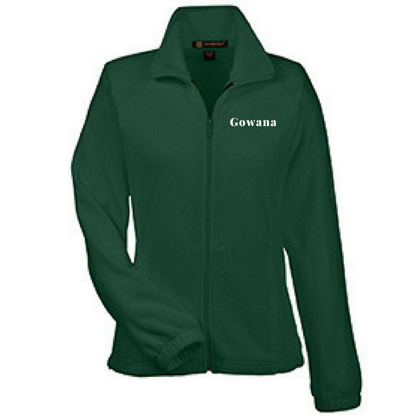 Gowana/Shen Full Zip Fleece- Youth, Ladies, & Men's, 3 Colors