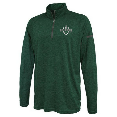 Greenwich Football Blend Lightweight Performance 1/4 Zip- Youth & Adult, 3 Colors