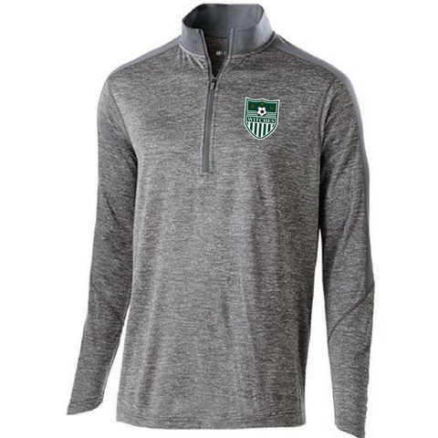 Greenwich Soccer Heather 1/4 Zip Pullover- Youth, Ladies, & Men's, 2 Colors