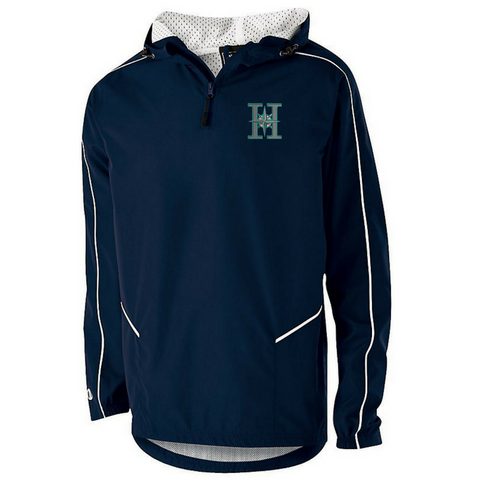 Halfmoon Mariners Hooded 1/4 Zip Pullover- Youth & Adult, 2 Colors