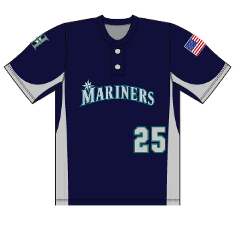 Halfmoon Mariners Home Uniform Jersey- Youth & Adult