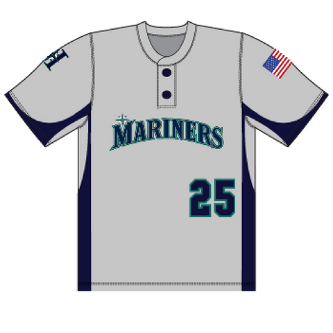 Halfmoon Mariners Away Uniform Jersey- Youth & Adult