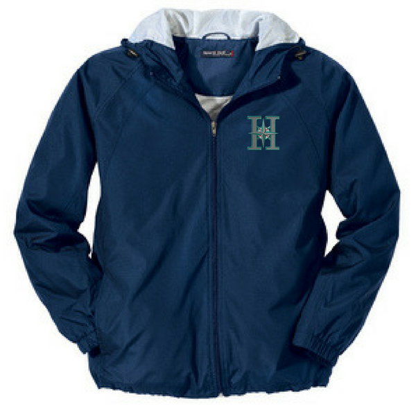 Halfmoon Mariners Lightweight Hooded Full-Zip Jacket- Youth, Ladies, & Adult, 2 Colors