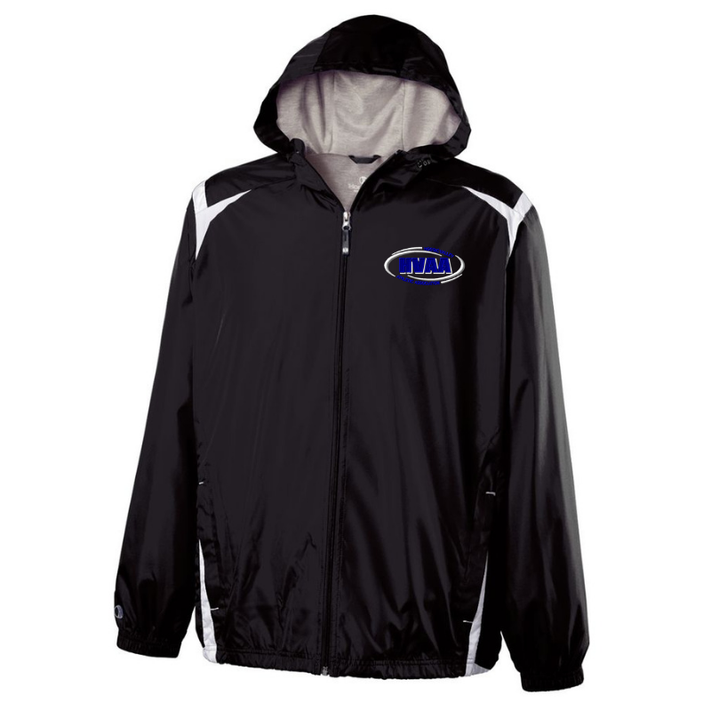 HVAA Baseball/Softball Hooded Full Zip Lightweight Jacket- Youth & Adult, 2 Colors