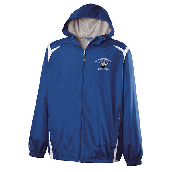 HV Bowling Hooded Full Zip Lightweight Jacket- Youth & Adult, 2 Colors
