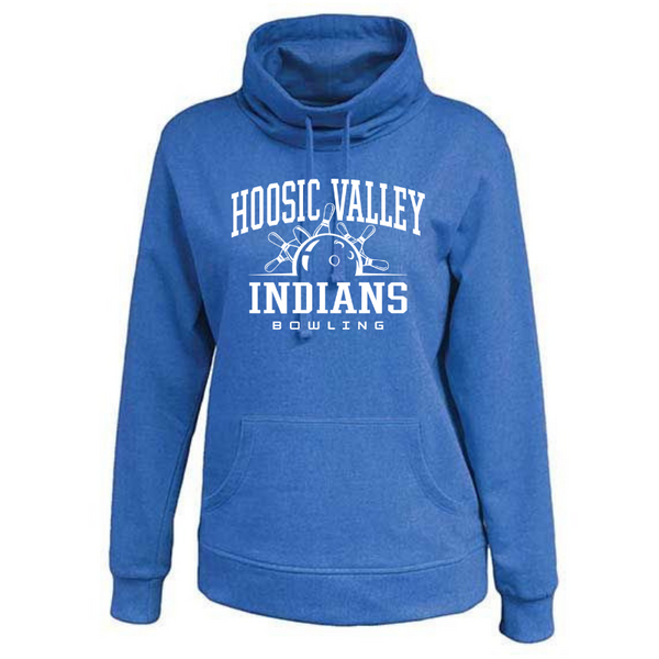HV Bowling Ladies Cowlneck Sweatshirt- 2 Colors
