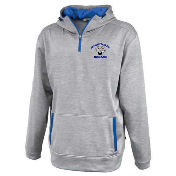 HV Bowling Hooded 1/4 Zip Performance Pullover- 2 Colors